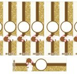 Kit Imprimible Comunion dorado nina 09