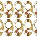Kit Imprimible Comunion dorado nina 17