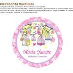 Kit Imprimible Comunion flores nina 05