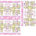 Kit Imprimible Comunion flores nina 07
