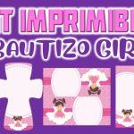 Kit Imprimible para Bautizo Niña