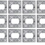 Kit Imprimible boda de plata 11