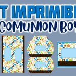 Kit Imprimible para Primera Comunión Niño