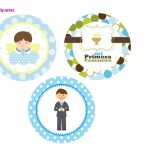 Kit Imprimible comunion boy nina 09