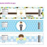 Kit Imprimible comunion boy nina 12