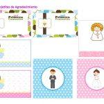 Kit Imprimible comunion boy nina 13