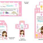 Kit Imprimible comunion fondo rosa nina 03