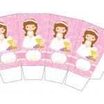 Kit Imprimible comunion rosado nina 02