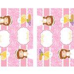 Kit Imprimible comunion rosado nina 06