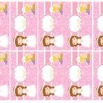 Kit Imprimible comunion rosado nina 07