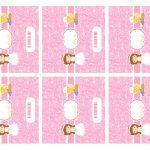 Kit Imprimible comunion rosado nina 13