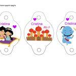 Kit Imprimible cumple Aladdin bebe 04