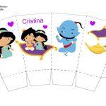 Kit Imprimible cumple Aladdin bebe 05