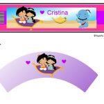 Kit Imprimible cumple Aladdin bebe 06