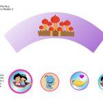 Kit Imprimible cumple Aladdin bebe 07