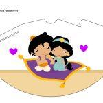 Kit Imprimible cumple Aladdin bebe 09