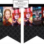 Kit Imprimible cumple Alicia a traves del espejo 02