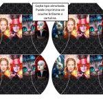 Kit Imprimible cumple Alicia a traves del espejo 07