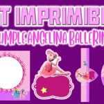 Kit Imprimible Angelina Ballerina para Cumpleaños