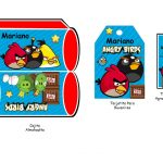 Kit Imprimible cumple Angry Birds Modelo 2 0