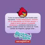Kit Imprimible cumple Angry Birds Modelo 2 01