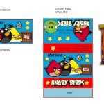 Kit Imprimible cumple Angry Birds Modelo 2 15