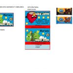 Kit Imprimible cumple Angry Birds Modelo 2 16