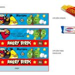 Kit Imprimible cumple Angry Birds Modelo 2 17