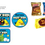 Kit Imprimible cumple Angry Birds Modelo 2 25