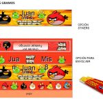 Kit Imprimible cumple Angry Birds Modelo 2 36