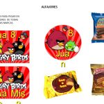 Kit Imprimible cumple Angry Birds Modelo 2 43