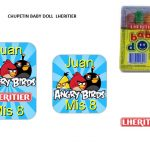 Kit Imprimible cumple Angry Birds Modelo 2 49