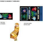 Kit Imprimible cumple Angry Birds Modelo 2 56