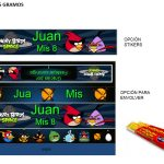 Kit Imprimible cumple Angry Birds Modelo 2 59