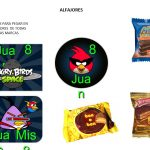 Kit Imprimible cumple Angry Birds Modelo 2 66