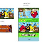 Kit Imprimible cumple Angry Birds Modelo 2 76