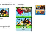 Kit Imprimible cumple Angry Birds Modelo 2 79