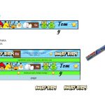 Kit Imprimible cumple Angry Birds Modelo 2 85