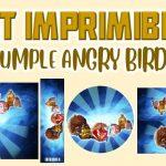 Kit Imprimible de Angry Birds para Cumpleaños