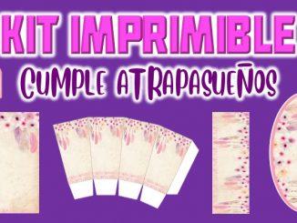 Kit Imprimible cumple Atrapasueno muestra