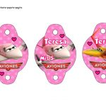 Kit Imprimible cumple Aviones girl 05