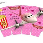 Kit Imprimible cumple Aviones girl 07