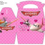 Kit Imprimible cumple Aviones girl 10