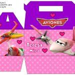 Kit Imprimible cumple Aviones girl 11