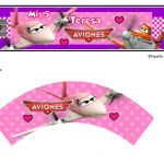 Kit Imprimible cumple Aviones girl 12