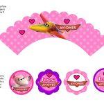 Kit Imprimible cumple Aviones girl 13