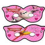 Kit Imprimible cumple Aviones girl 14