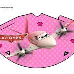 Kit Imprimible cumple Aviones girl 15