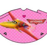 Kit Imprimible cumple Aviones girl 16