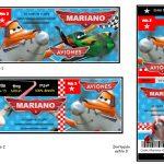 Kit Imprimible cumple Aviones nino 02